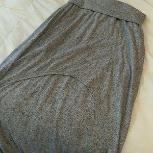 Aeropostale Grey high-low skirt